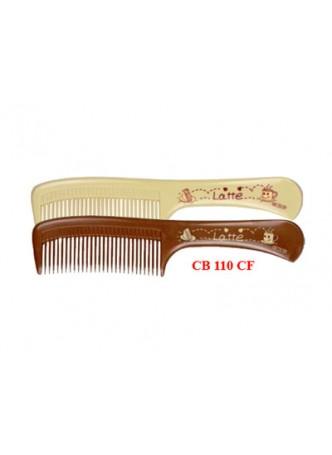 Lược chải đầu (nâu đậm, kem) 110CF