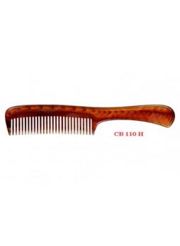 Lược chải đầu (nhựa mầu nâu trong, vân đồi mồi) CB110H