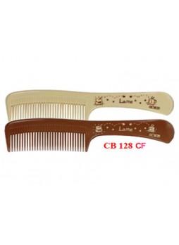 Lược chải đầu (nâu đậm, kem) 128CF