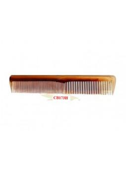 Lược chải đầu mini (nhựa mầu nâu trong, vân đồi mồi) CB 173 H