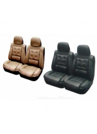 Bộ bọc ghế trước DELUXE - Chất liệu giả da - Mua nhiều giảm giá từ 5 đến 10% và nhiều ưu đãi khác